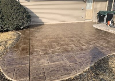 Stamped Concrete Project in Southington, CT
