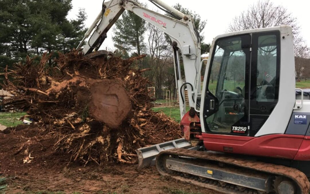 Cromwell, CT   Excavating & Grading Contractor   Landscape Yard Drainage Services