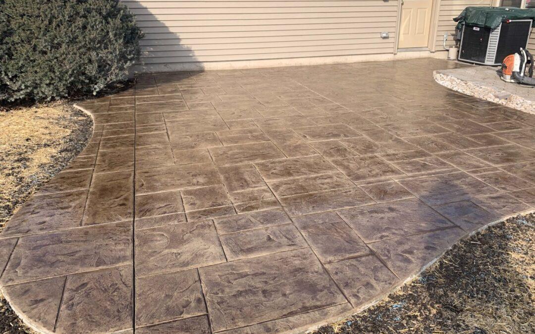 Meriden, CT | Stamped Concrete Patio & Walkway Contractor | Stamped Concrete Patio Costs