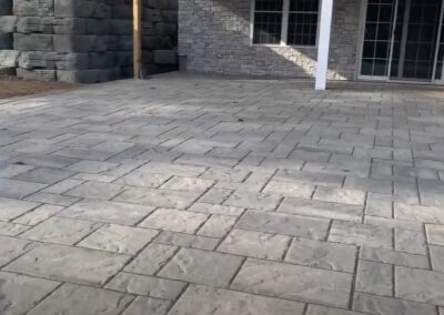 Stamped Concrete or Decorative Concrete Patio Berlin, CT