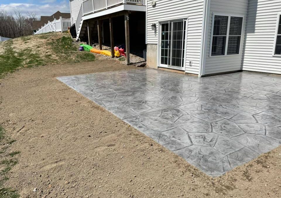Plainville, CT | Stamped Concrete Patio Contractor | Patio Installation and Design Company
