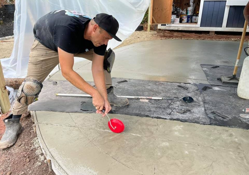 Wallingford, CT | Stamped Concrete Patios & Walkways | Cost of Stamped Concrete