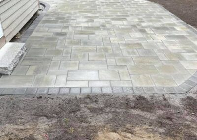 Killingworth, CT | Patio Paver Stamped Concrete Patio Installation Project